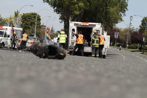 Victoria police believe driver hit gas instead of brake in major traffic crash