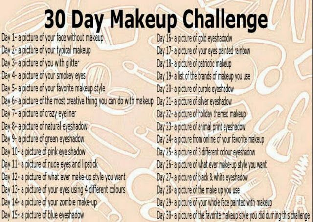 Beauty Trade Review: 30 DAY MAKEUP CHALLENGE