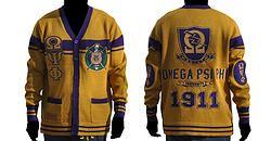 Omega Psi Phi Sweater Gold