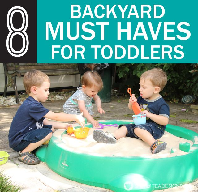 8 Backyard Must Haves for Toddlers | Baby tips | Toddler Toys, Backyard  toys, Toddler play - 8 Backyard Must Haves For Toddlers Baby Tips Toddler Toys