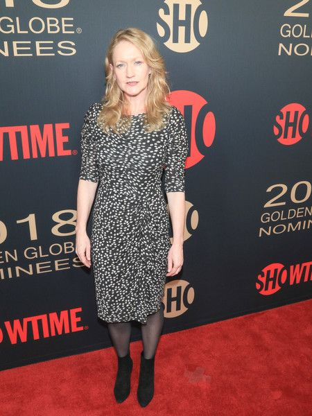 Paula Malcomson is seen attending Showtime Golden Globe Nominees Celebration at Sunset Tower in Los Angeles, California.