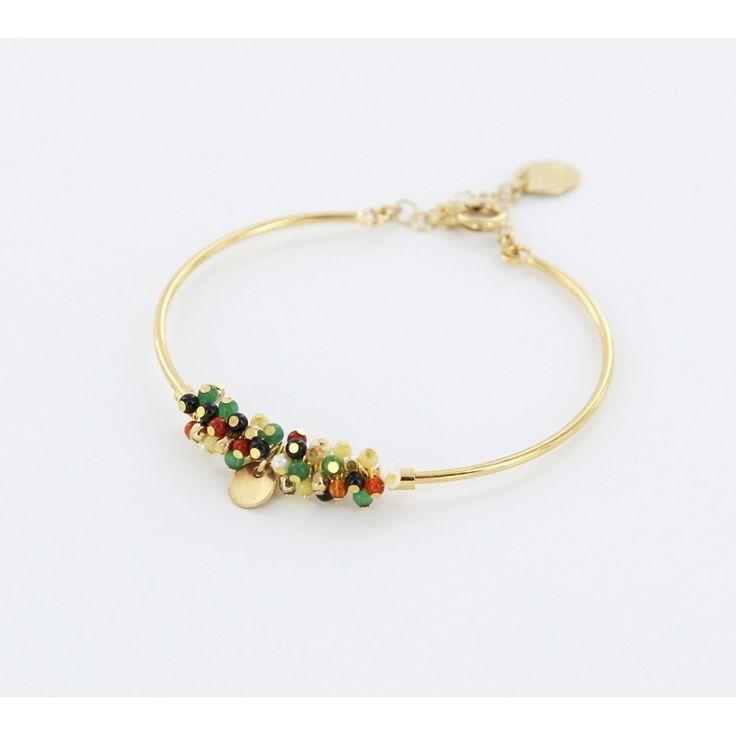 Bracelet jonc Halo - Bijoux Medecine Douce
