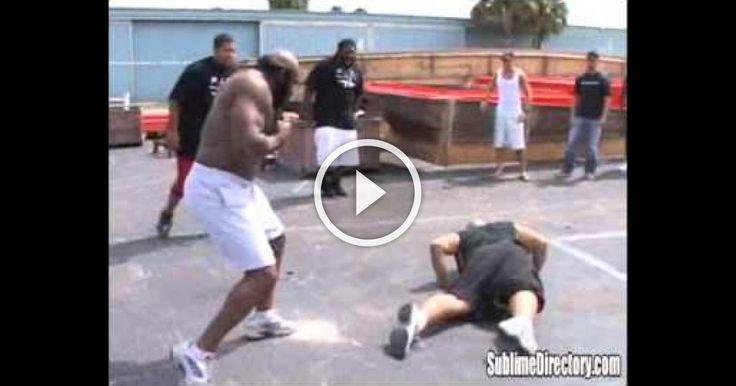 Kimbo Slice vs Afropuff & Big Mac!