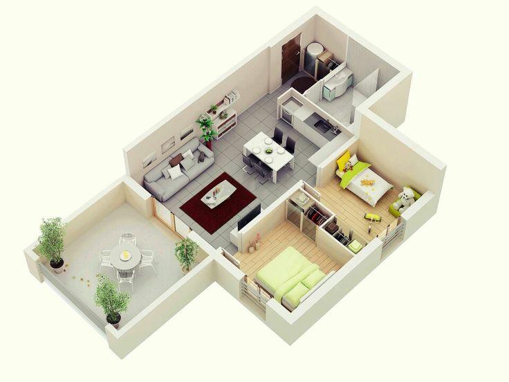 35 best Suite images on Pinterest Small houses, House design and - plan maison cubique gratuit