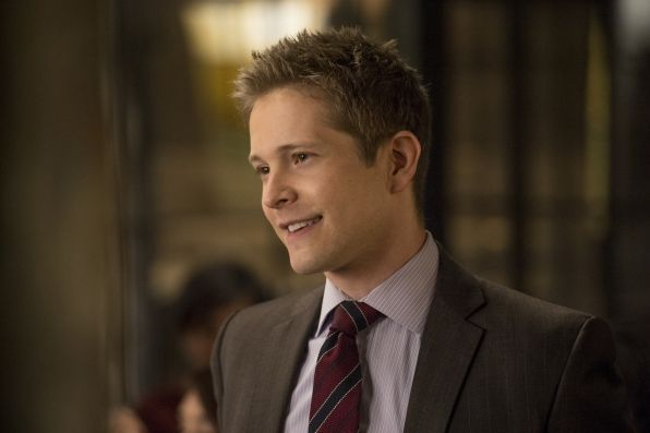 Smiles that make us melt... #6 Cary Agos (Matt Czuchry) - The Good Wife >>> So true <3
