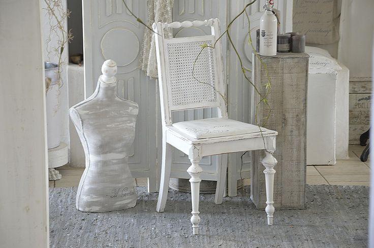 Vintage Stühle - Traumhafter Biedermeierstuhl *Paris* - ein Designerstück von Elflora bei DaWanda