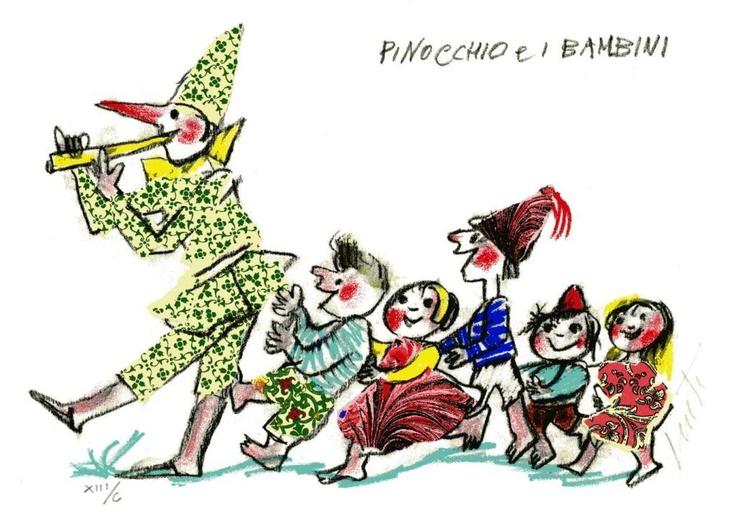 Emanuele Luzzati  Love his work. He was an Italian painter, production designer, illustrator, film director and animator.
