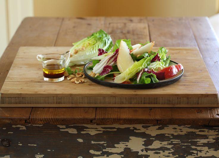 Red Sensation Pear and Hazelnut Salad - Maggie Beer