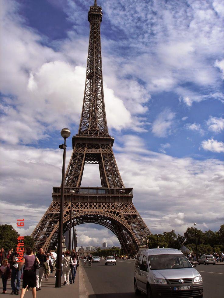 Cele mai frumoase locuri din Europa: Turnul Eiffel