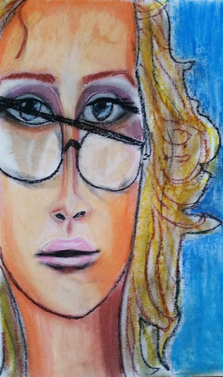Exploring oil pastels. Check out my webside and get in touch if you want to by thsi :-)