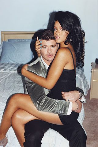 The GQ Tumblr · Robin Thicke + Rihanna, 2007 Shot by Terry...