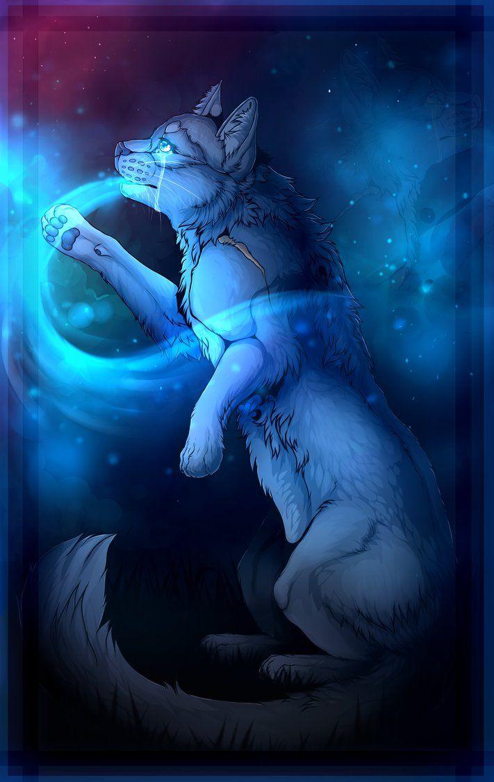Warrior Cats - Bluestar - Blue Breath + SPEEDPAINT by Jeavieh on DeviantArt