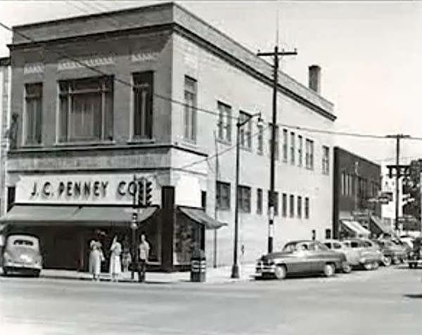J C Penney Downtown Jackson Jackson Tennessee Jackson