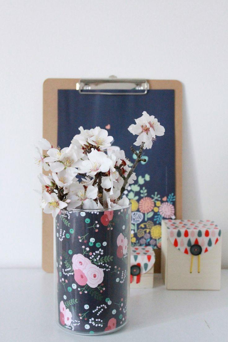 Vase et pots pour sa déco - Avec ses 10 ptits doigts - blog DIY