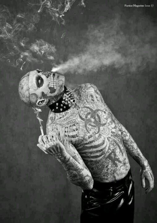 rick genest zombie boy - photo #31