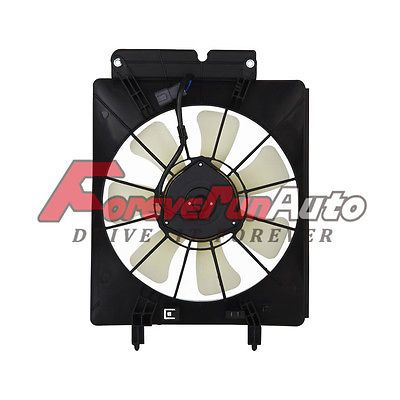 A/C AC Air Conditioning Condenser Cooling Fan Motor & Shroud for 02-06 CR-V CRV