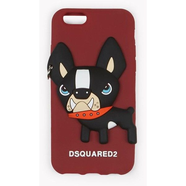 Dsquared2 Iphone 7 Covers (£60) ❤ liked on Polyvore featuring men's fashion, men's accessories, men's tech accessories, maroon and dsquared2