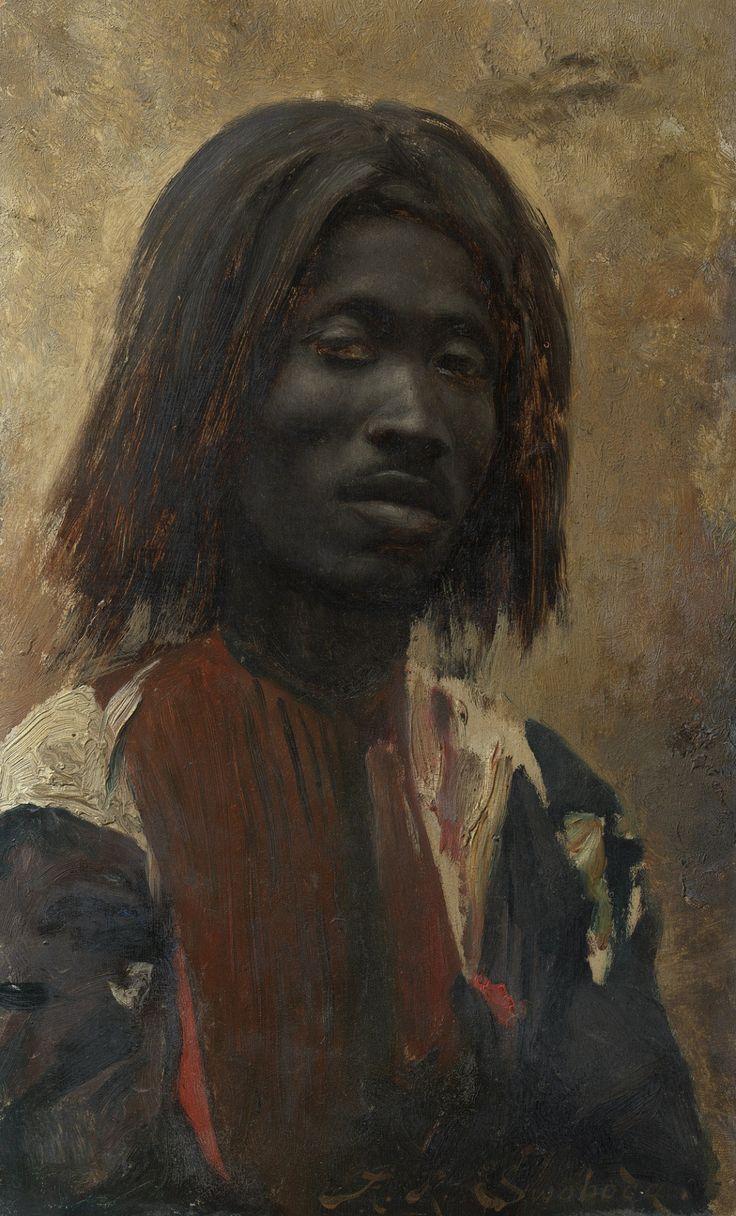 "crystalline-aesthetics: "" Rudolf Swoboda An Unidentified Man. c.1888-89, oil on panel. The Royal Collection, Osborne House, UK """