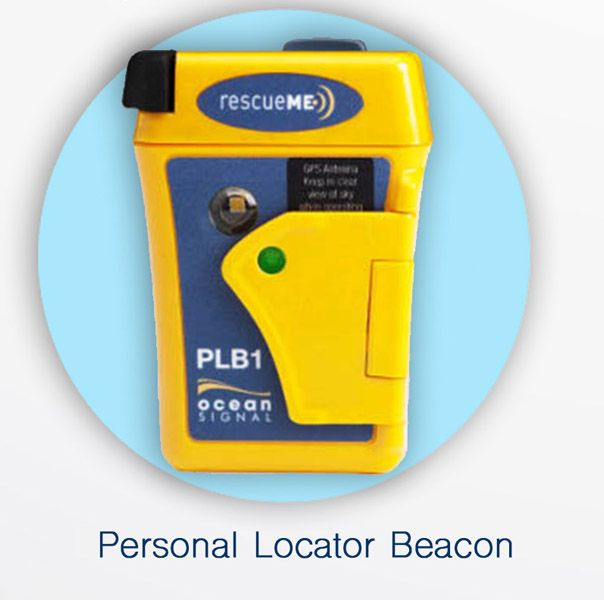 Ocean Signal rescueMe PLB, the smallest PLB on the market. In Stock • $259.00 • 7 year warranty