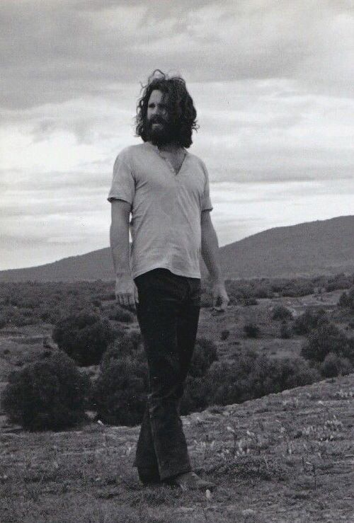 Jim Morrison in Mexico, 1969.
