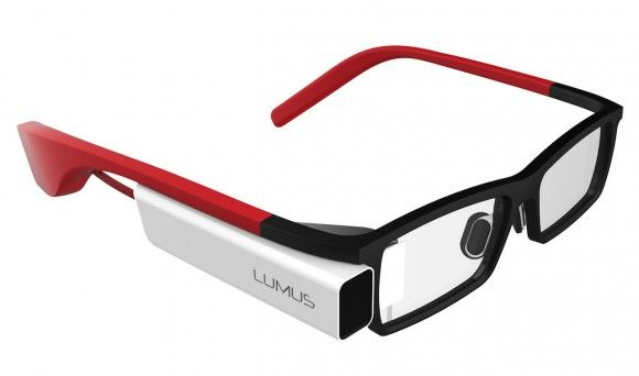Google Glass now has some serious competition coming from Lumus DK-40 glasses that integrate full augmented reality into the left lens. Still a little clunky looking but I think I want one!