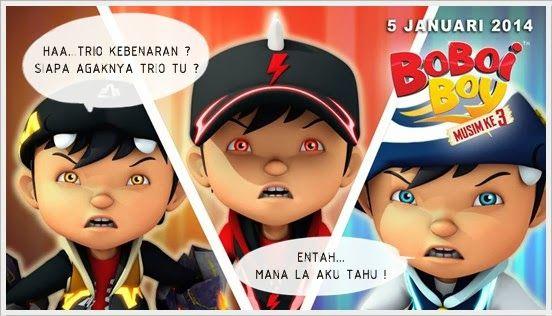 BoBoiBoy Musim Ketiga : BoBoiBoy Dan Trio Kebenaran | ! Skytech ...
