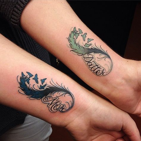 31 Beautifully Mother Daughter Tattoo Ideas Pictures ...