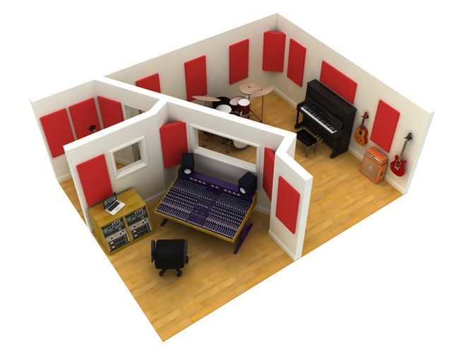 soundproofing a home recording studio. Interior Design Ideas. Home Design Ideas