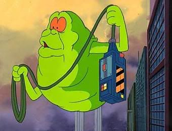 Slimer and the Real Ghostbusters!!! <3 Loved this Show!!