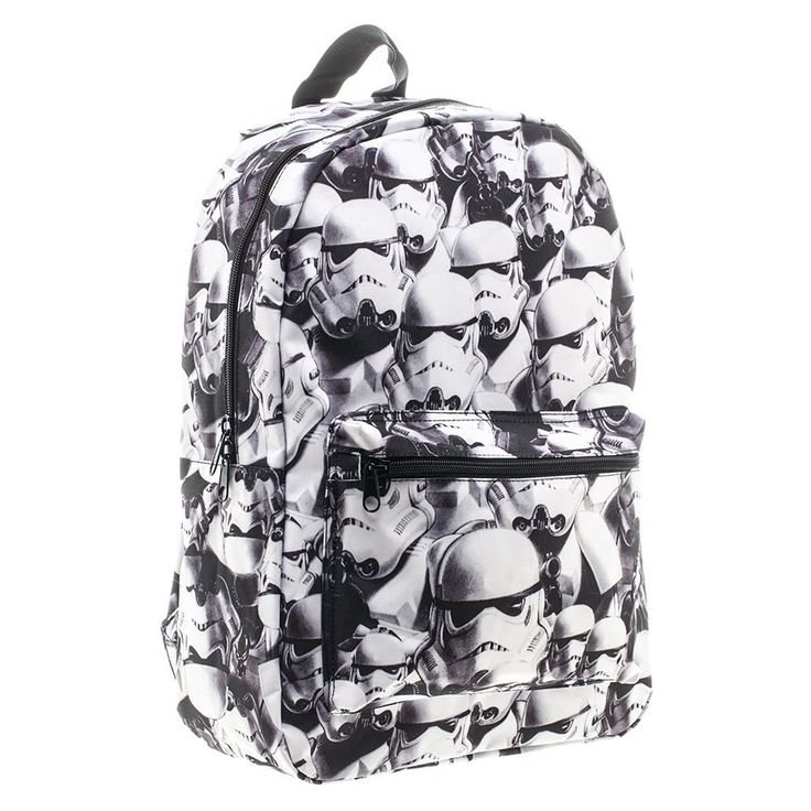 Star Wars Stormtrooper Helmet Backpack, White