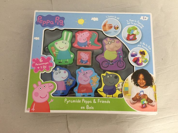 PEPPA PIG Peppa Pyramide Peppa & Friends in Spielzeug, Film & Fernsehen, Sonstige | eBay!
