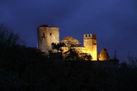 Castello di Gropparello By Night