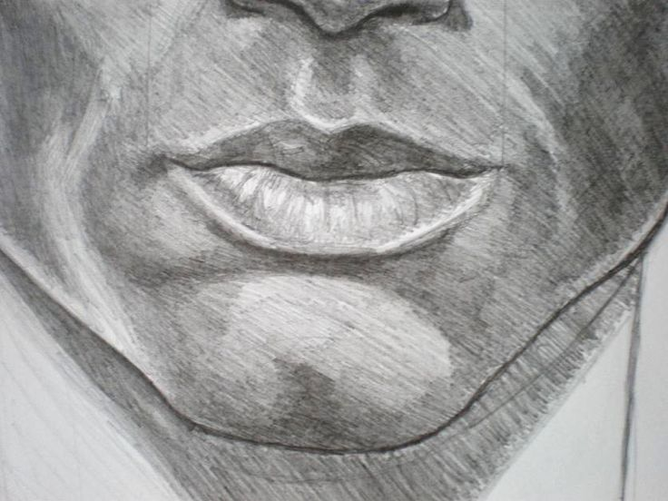 How To Draw A Mouth Of A Man