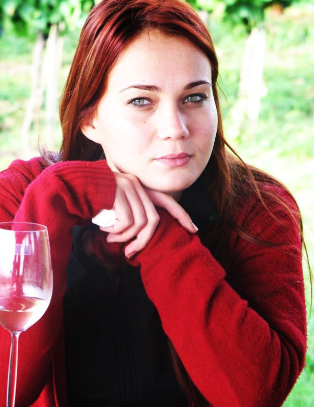 Photo by me. Photo: Diána Rigó #beauty #wine #balaton #red #hair