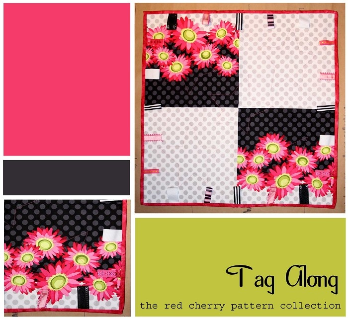 'Tag Along' Blankie - by redcherrypatternco on madeit