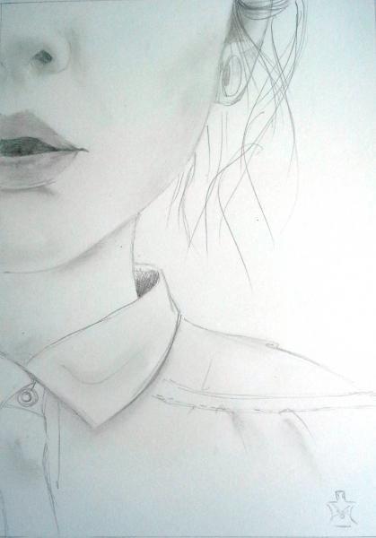 Visage  Dessin à la main / Peinture