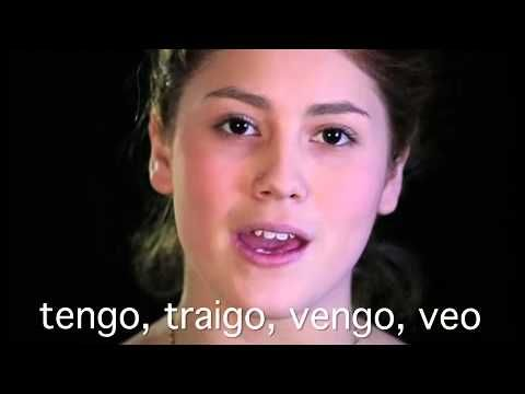 Irregular Spanish Verb songs: Present Tense - YouTube