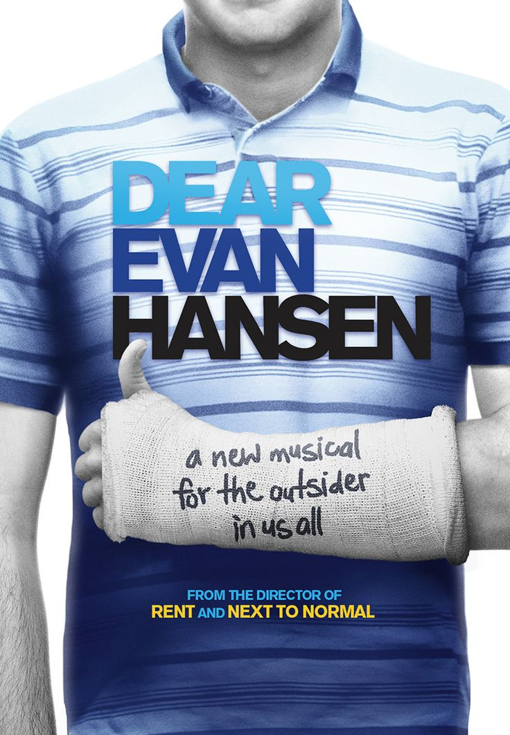DEAR EVAN HANSEN: A New Musical | On Broadway this Winter I want to see it so badly it hurts