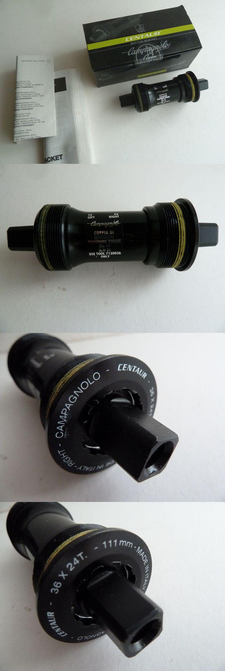Bottom Brackets 177805: New Campagnolo Centaur Bottom Bracket, 70X111, Italian, Cartridge, Square Taper -> BUY IT NOW ONLY: $49.0 on eBay!