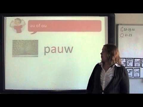 Spelling: au of ou