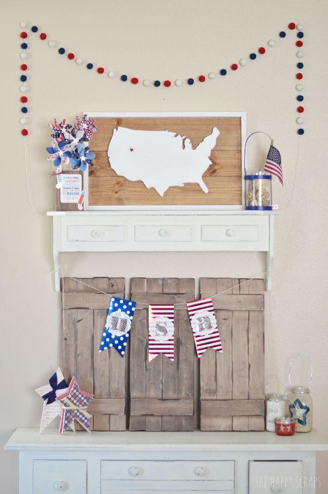 Fun USA Plank Sign
