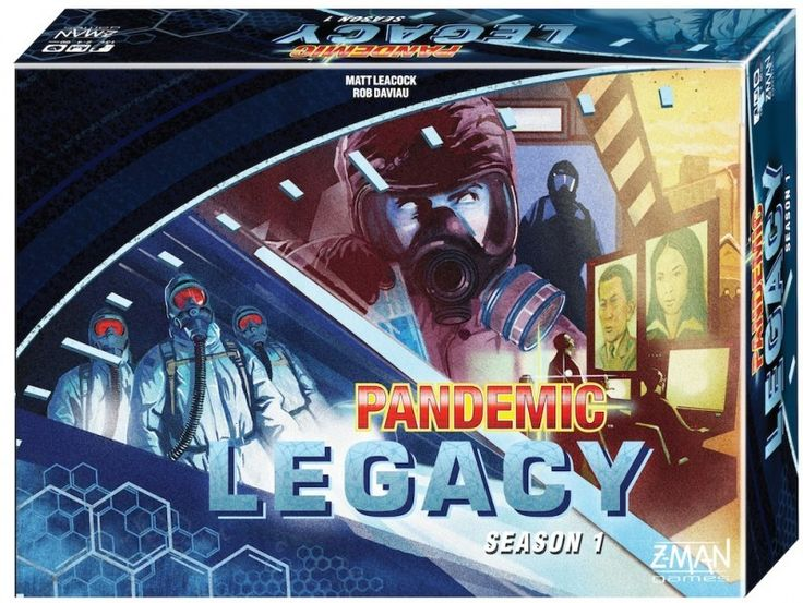 The world is on the brink of disaster. In Pandemic Legacy, your disease fighting team must keep four deadly diseases at bay for a whole year. Each month will bring new surprises, and your actions in each game will have repercussions on the next. Will you let cities fall to the diseases? Will your team be enough to keep the viruses at bay for a whole year?