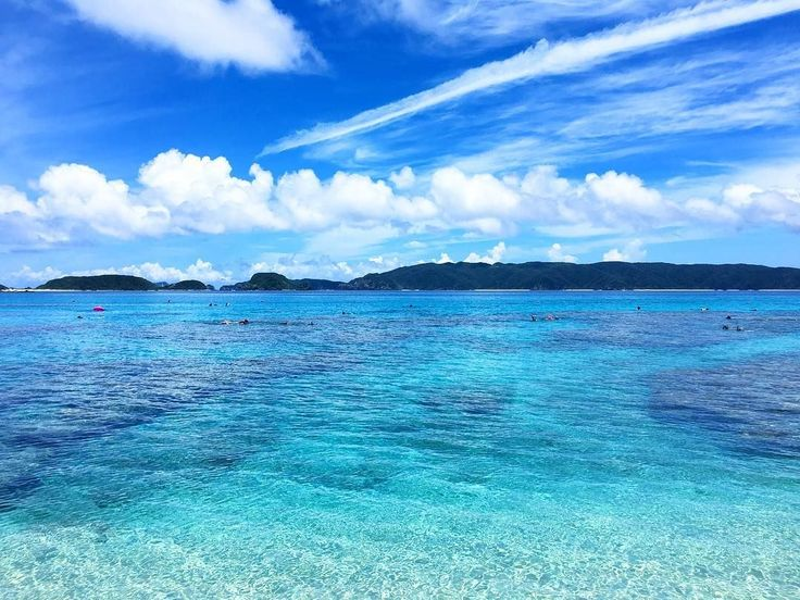 青い海と珊瑚礁の絶景!この夏は沖縄「古座間味ビーチ」で癒しのひとときを 14枚目の画像