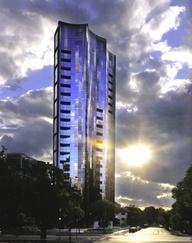 Residential tower, St Kilda Road