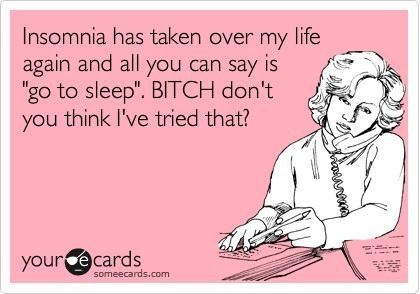 Insomnia humor