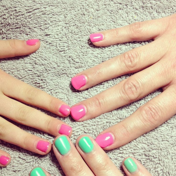 how to get rid of gel nails at home