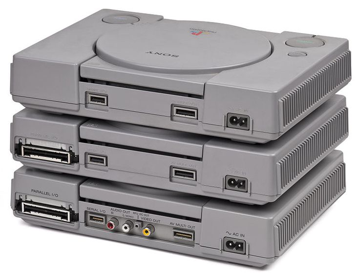 Sony Playstation 1, released in 1995.