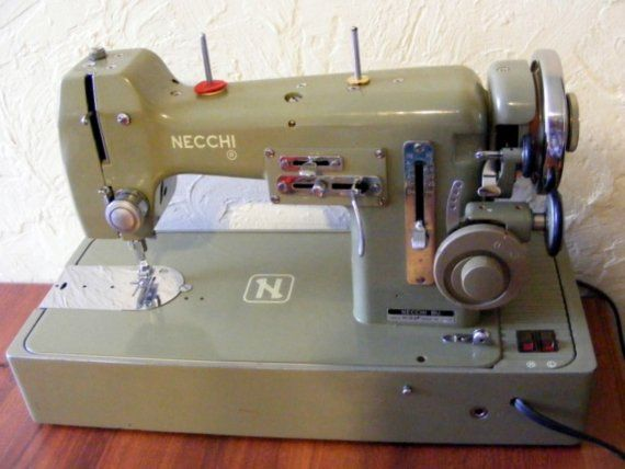 Necchi BU Mira With Wonder Wheel Sewing By Itsnewagainvintage Gorgeous Necchi Bf Mira Sewing Machine