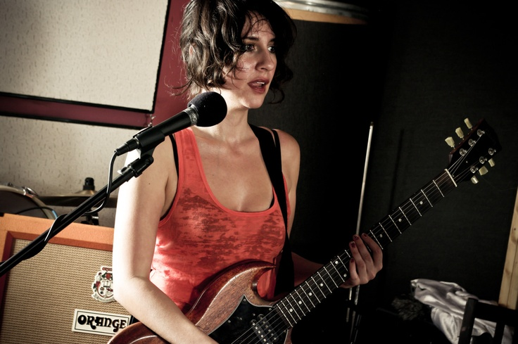 Sarah Neghadari from The Happy Hollows (played with Silversun Pickups on 2013 tour)