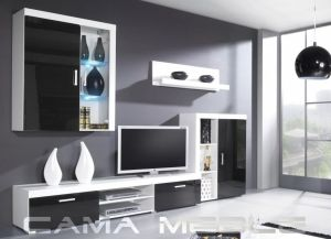SAMBA A CAMA High Gloss Living Room Furniture Set Polish Cama Meble Store In